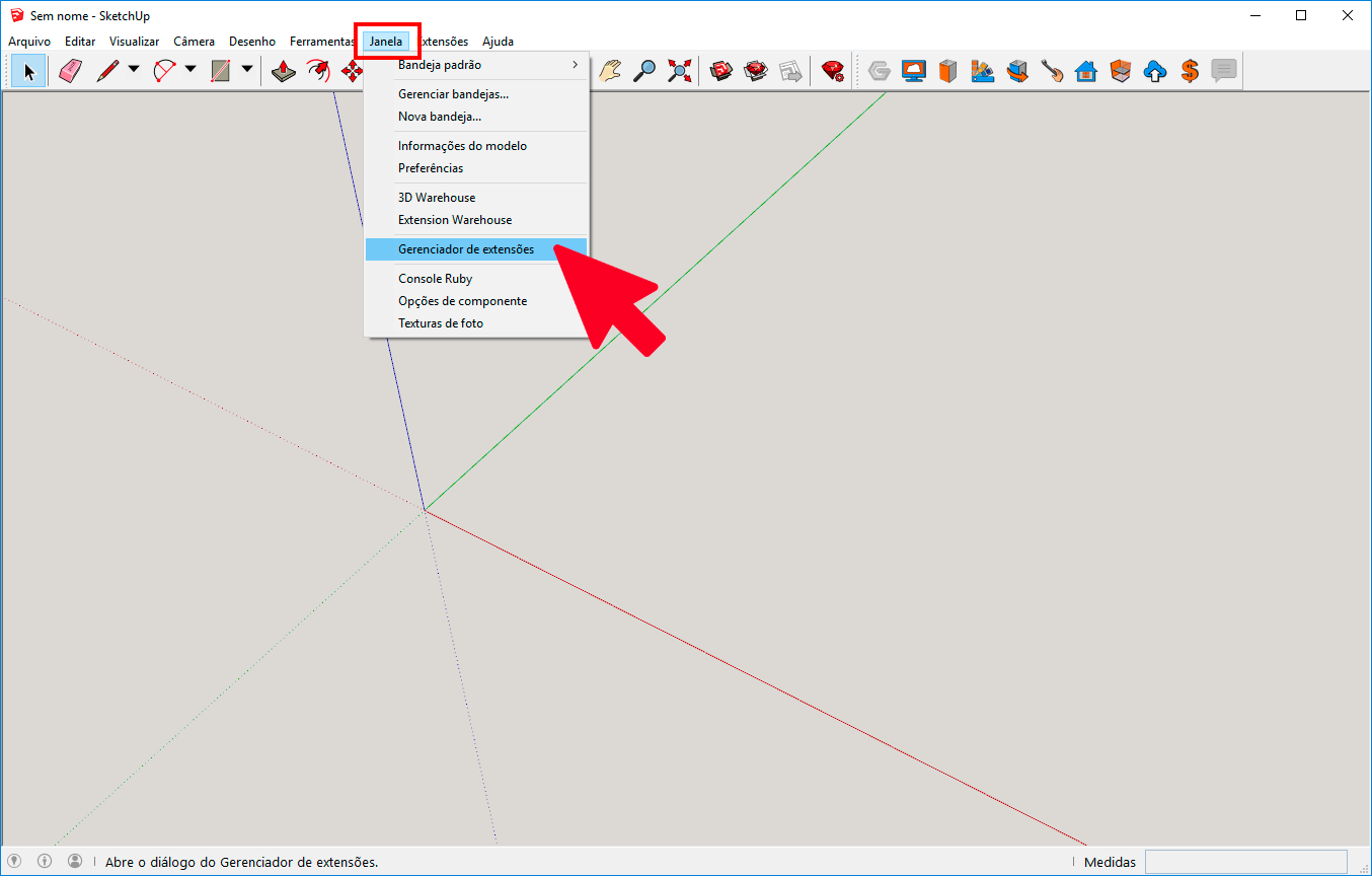 Sketchup Extension Manager